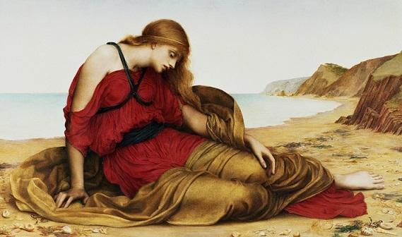 イーヴリン・ド・モーガン 『ナクソス島のアリアドネ』1877年