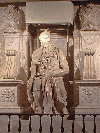 ミケランジェロ 『モーセ像』