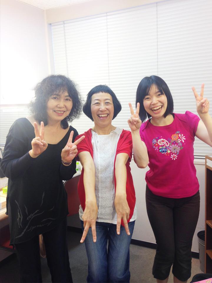 ケロポンズ増田裕子さんと小澤直子・小澤るしや01