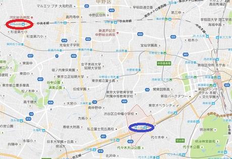 20161023阿佐ヶ谷と幡ヶ谷