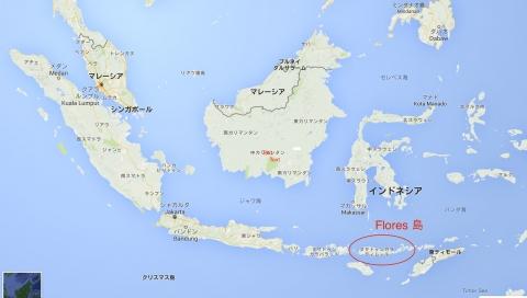 インドネシア全体地図