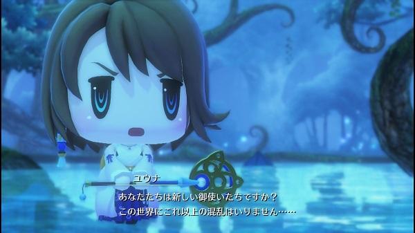 PS4 PSVITA ワールドオブファイナルファンタジー WORLD OF FINALFANTASY プレイ日記 ユウナ