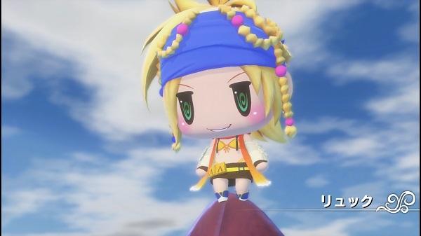 PS4 PSVITA ワールドオブファイナルファンタジー WORLD OF FINALFANTASY プレイ日記 キスティス リュック ティファ
