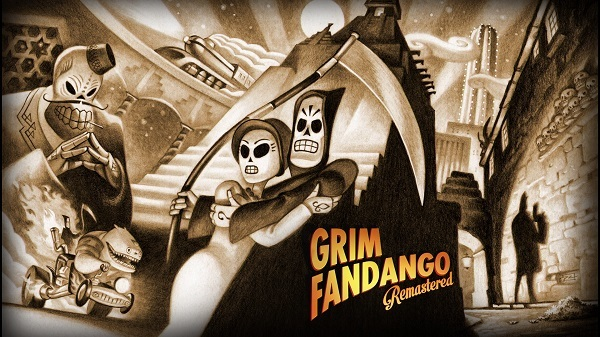 PS4 PSVITA Grim Fandango Remastered PSプラス 11月 フリープレイタイトル グリムファンダゴ リマスター プレイ日記