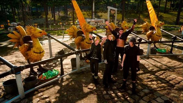 PS4 FF15 FINALFANTASY ファイナルファンタジー15 プレイ日記 チョコボ