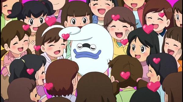ゲームアニメ 妖怪ウォッチ 144話  感想 妖怪 ひっぱりダコ
