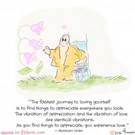 自分自身を愛するのに最速の旅は・・・