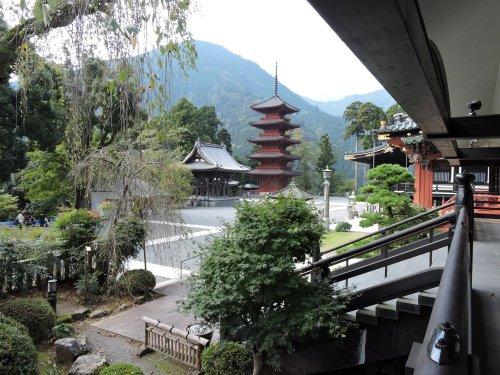 5久遠寺五重塔