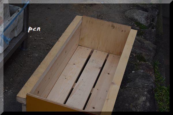 手作りプランター1
