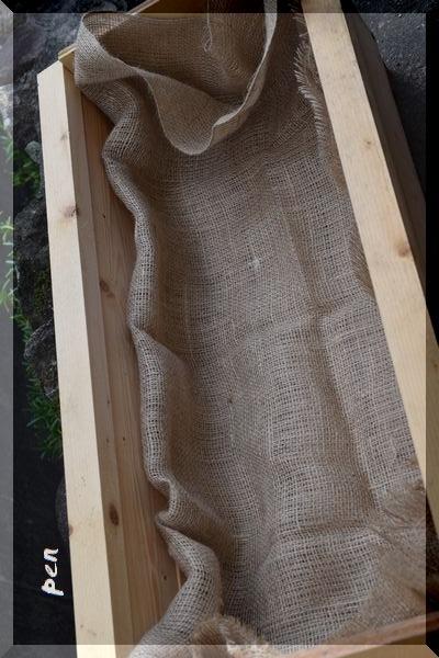 手作りプランター2