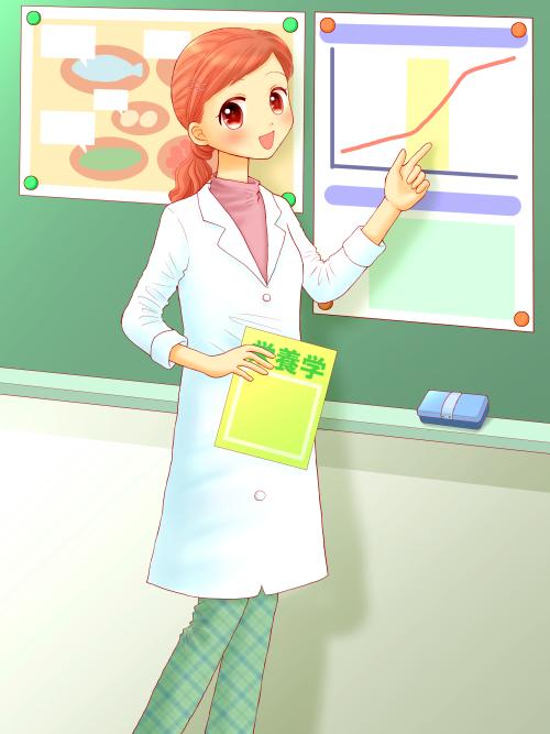 学校栄養士-メインラスト(完成)500ブログ用