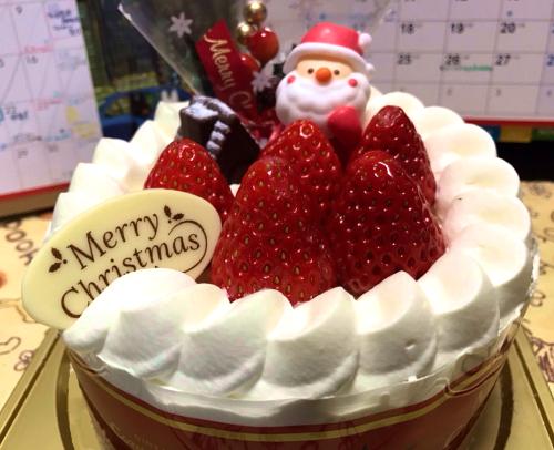 クリスマスケーキ2016