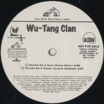 HH_WU TANG CLAN_SHAME ON A NIGGA_201604