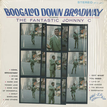 SL_FANTASTIC JOHNNY C_BOOGALOO DOWN BROADWAY_201605