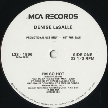 DG_DENISE LASALLE_IM SO HOT_201605