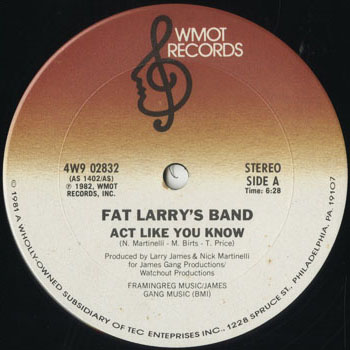 DG_FAT LARRYS BAND_ACT LIKE YOU KNOW_201605