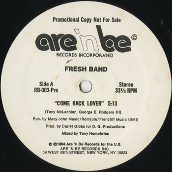 DG_FRESH BAND_COME BACK LOVER_201605