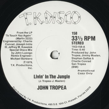 DG_JOHN TROPEA_LIVIN IN THE JUNGLE_201605