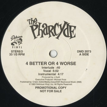 HH_PHARCYDE_4 BETTER OR 4 WORSE_201607