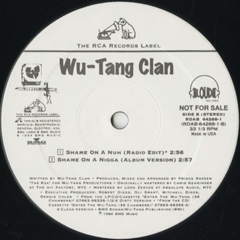 HH_WU TANG CLAN_SHAME ON A NIGGA_201608