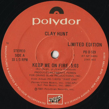 DG_CLAY HUNT_KEEP ME ON FIRE_201608