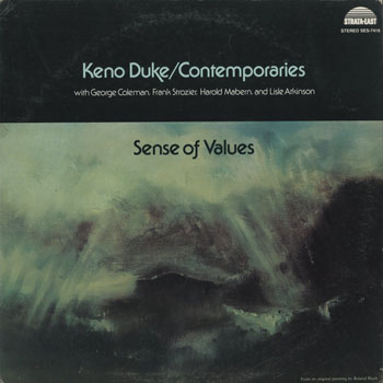 JZ_KENO DUKE_SENSE OF VALUES_201608