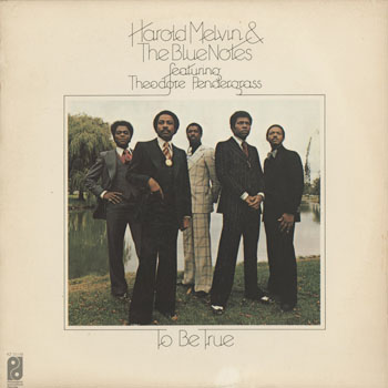 SL_HAROLD MELVIN_TO BE TRUE_201610