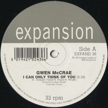 DG_GWEN McCRAE_I CAN ONLY THINK OF YOU_201610