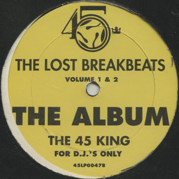 HH_45 KING_THE LOST BREAKBEATS YELLOW_201610