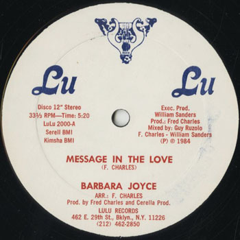 DG_BARBARA JOYCE_MESSAGE IN THE LOVE_201611