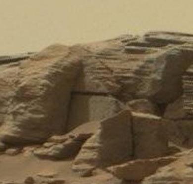 火星落石直角