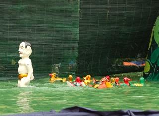 水上人形劇1