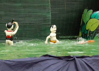 水上人形劇2