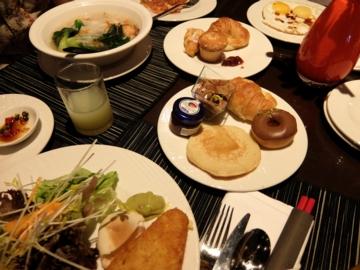 マレーシア096シェラトン朝食