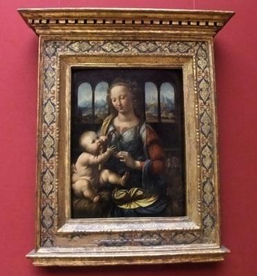ミュンヘン083ダヴィンチ聖母子