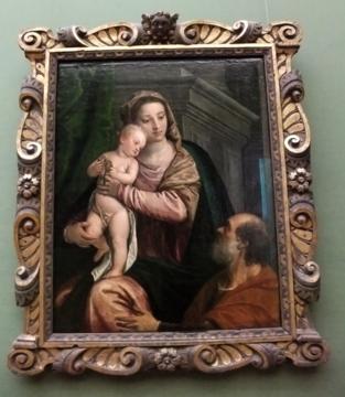 ミュンヘン087ヴェロネーゼ聖母子と