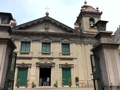 マカオ6046聖アントニオ教会