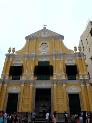 マカオ6068聖ドミニコ教会