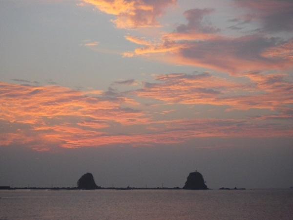 2016 9月10日 双名島朝焼け