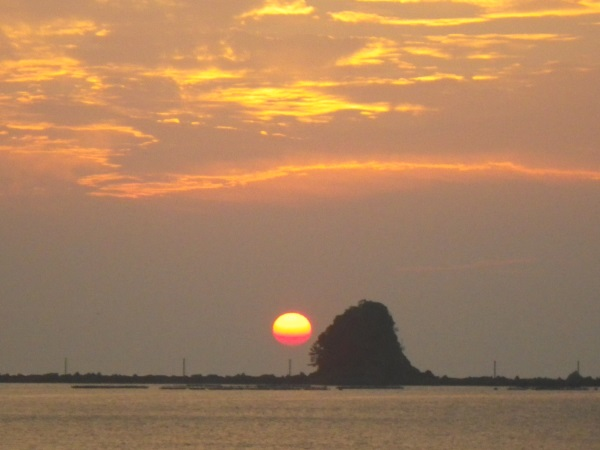 2016 9月10日 双名島朝日