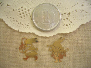 真鍮:アリスウサギ2種