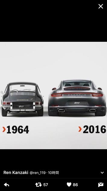Porscheポルシェ911_1964_2016_TW_20161217