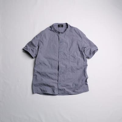 th_r61210半袖クラックシャツ