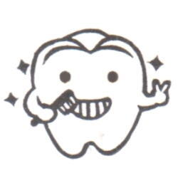 輝く歯くんキラリ