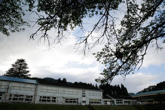 福栄小学校 ライトアップ