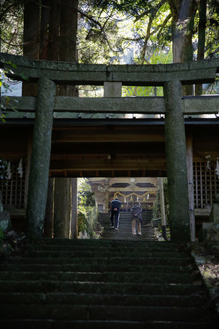 福栄神社 日南町 生山
