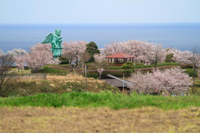 大山町 仁王堂 公園 桜