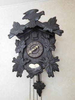 本打式ハト時計