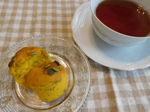 暖かい紅茶と