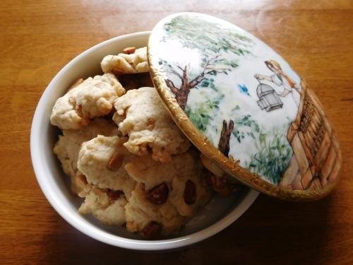 アーモンドとくるみのクッキー